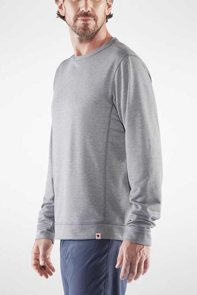 The High Coast Lite Sweater from Fjallraven is a light sweater designed for warmer weather outings.  It's made from partly recycled polyester and is designed to keep you comfortable (not too warm, not too cold).