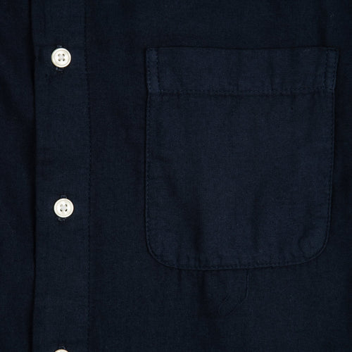 Ripper Shirt - Double Gauze Navy