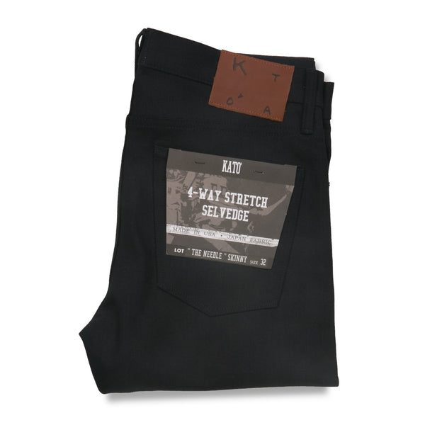 Needle - 10.5 oz. black raw