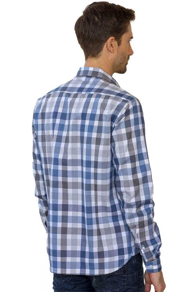 ethical mens clothing - long sleeve shirt made from 100% organic cotton
