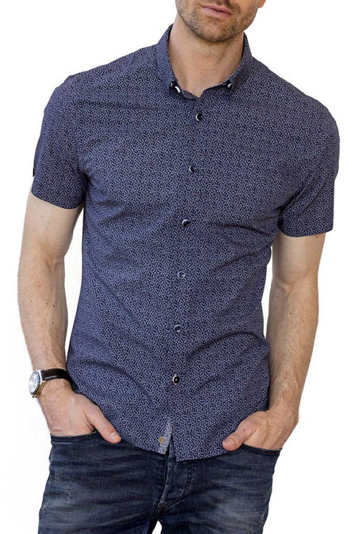 ethical mens clothing - organic cotton button up shirt
