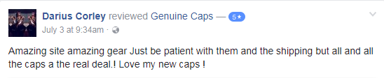 Darius Corley genuine caps review