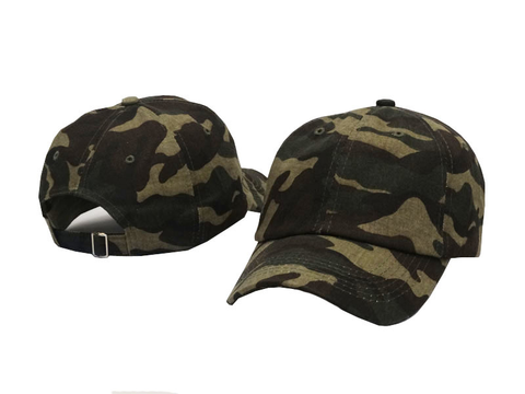 Camo Dad Hat - Genuine Caps