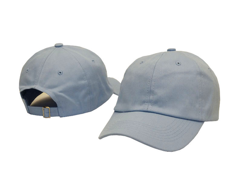 Sky Blue Dad Hat - Genuine Caps