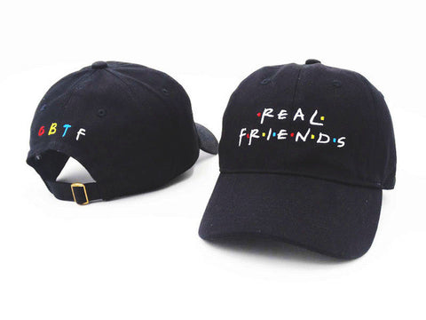 Real Friends Dad Hat - Genuine Caps