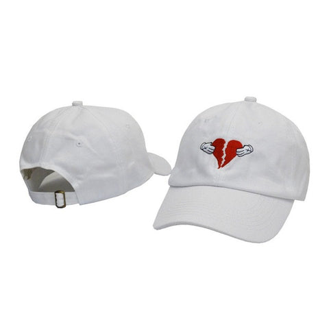 Broken Heart Dad Hat - Genuine Caps