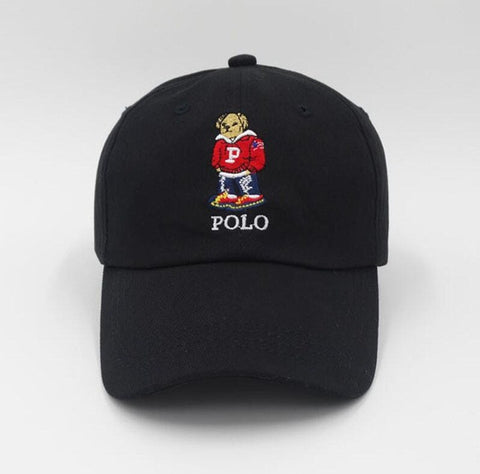 Polo Bear Dad Hat - Genuine Caps