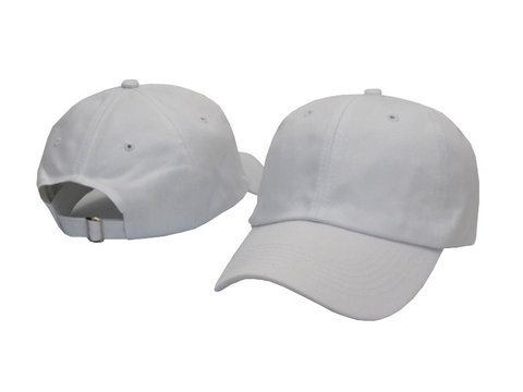 White Dad Hat - Genuine Caps