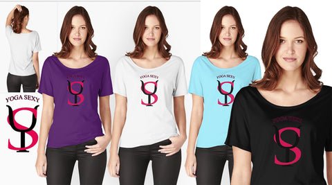 Yoga Sexy Title Logo (Relaxed Fit Tee)  $29.50