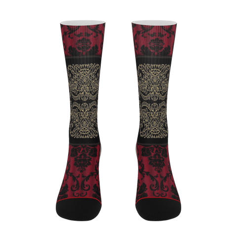 Yoga Sexy RaceLaceRed Socks - Yoga Sexy
