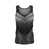 Yoga Sexy DragonskinGrey Pima Tank Top - Yoga Sexy