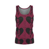 Yoga Sexy HeartFlower Pima Tank Top - Yoga Sexy