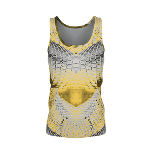 Yoga Sexy DragonskinGolden Pima Tank Top - Yoga Sexy