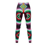 Yoga Sexy Totem Leggings - Yoga Sexy