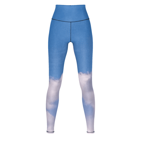 Yoga Sexy WhiteFluffy Yoga Pants - Yoga Sexy