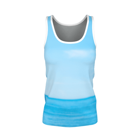 Yoga Sexy SkyBeach Pima Tank Top - Yoga Sexy