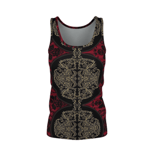 Yoga Sexy RaceLaceRed Prima Tank Top - Yoga Sexy