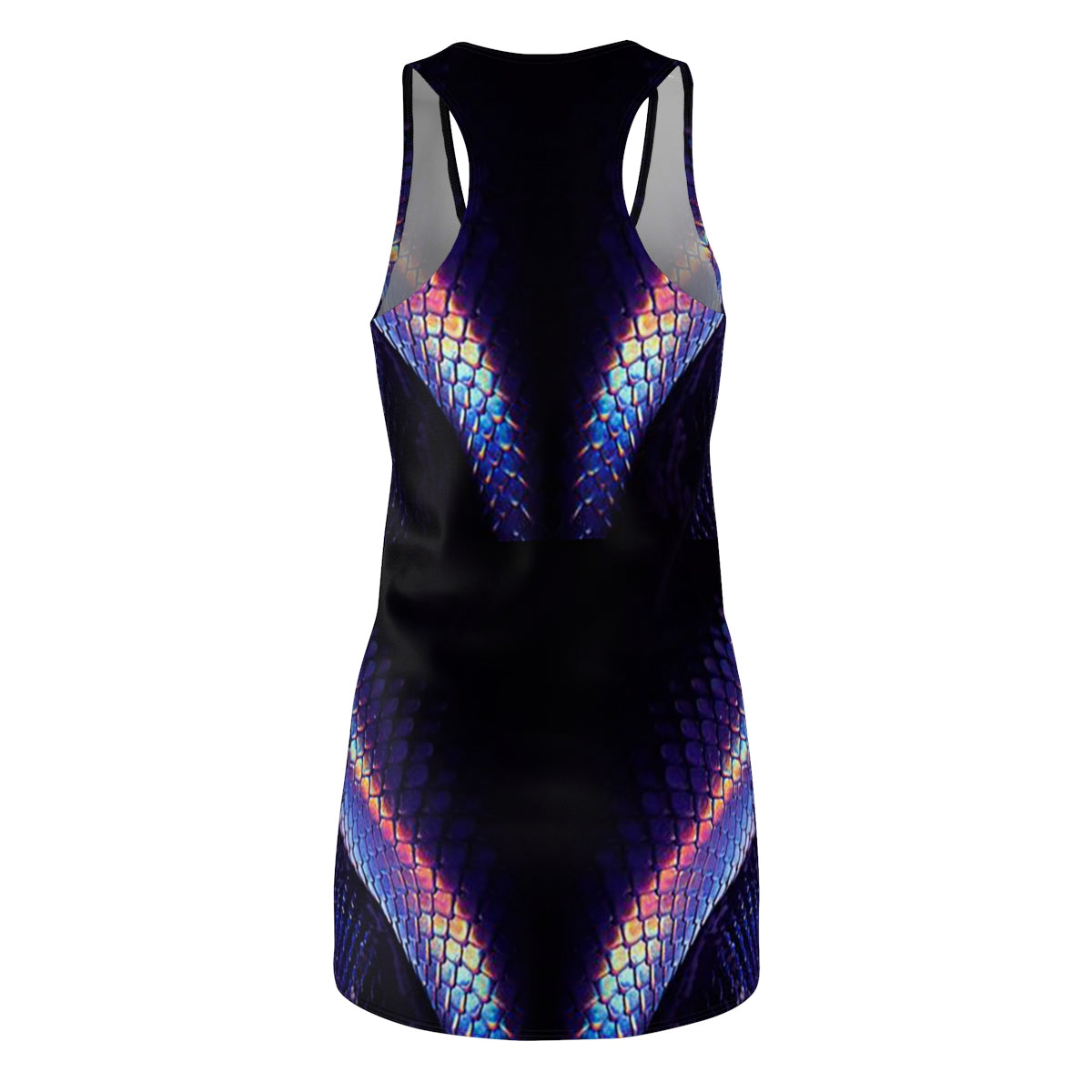 Yoga Sexy Custom Gear Dragonskin(Indigo) Racerback Dress - Yoga Sexy