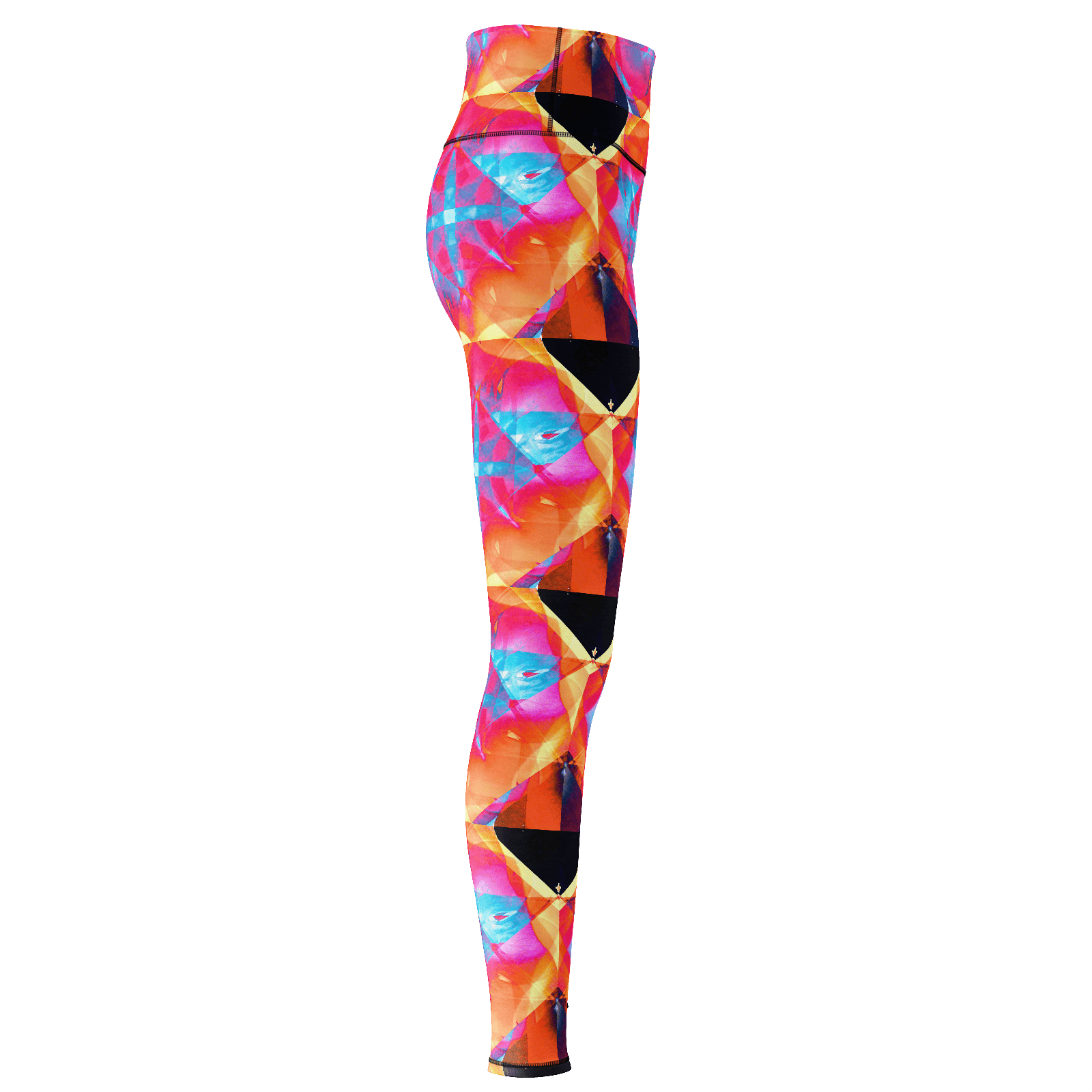 Yoga Sexy BlueRoseFire Yoga Pants