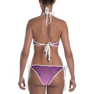 Yoga Sexy Custom Gear Purple Polkadot 4way Bikini - Yoga Sexy