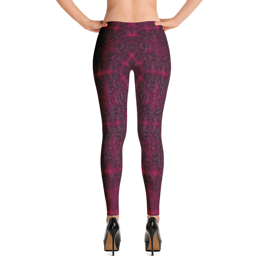 Yoga Sexy Custom Gear PurpleLacey Leggings - Yoga Sexy