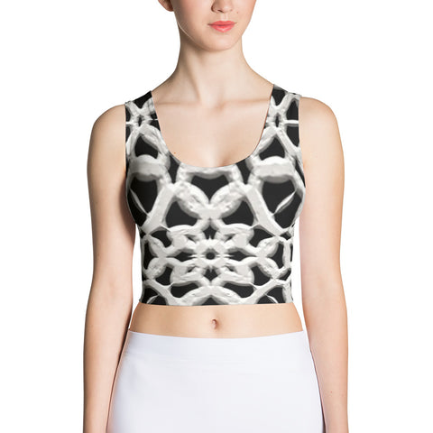 Yoga Sexy Custom Gear Lacemail Crop Top - Yoga Sexy