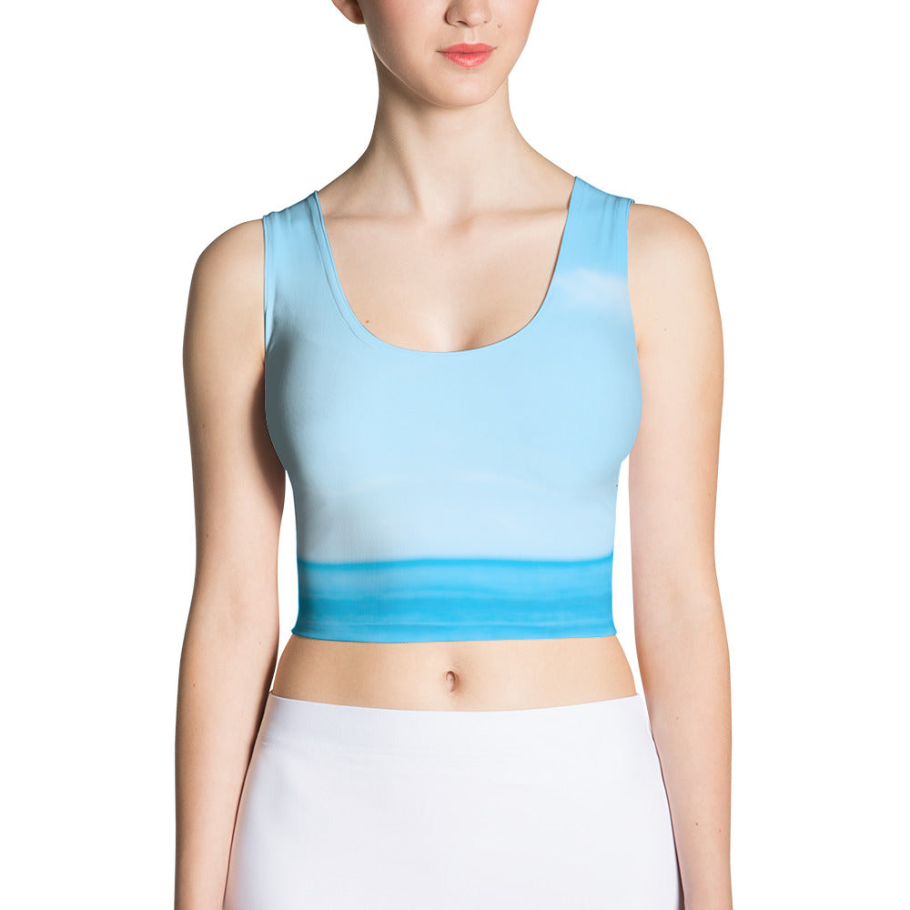 Yoga Sexy SeaSky Crop Top (One of a Kind) - Yoga Sexy