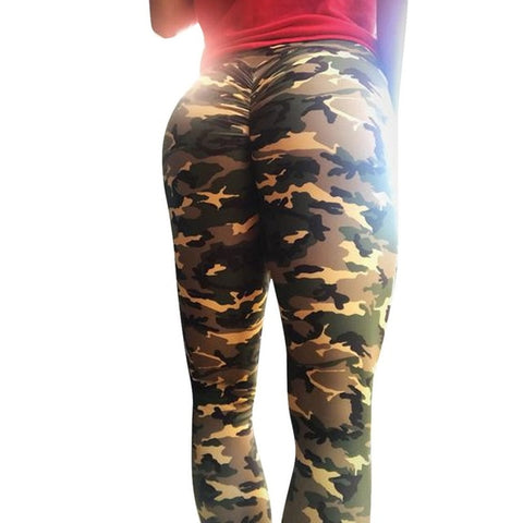 Discount Imported Camouflage Leggings