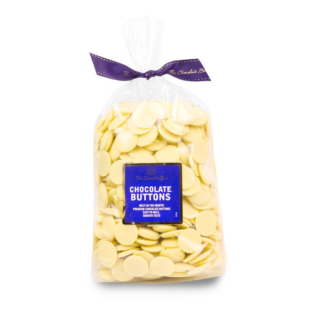 White Chocolate Pastilles (Buttons), Big Bag