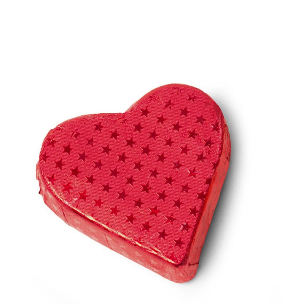 Milk Chocolate Small Red Heart, 55mm