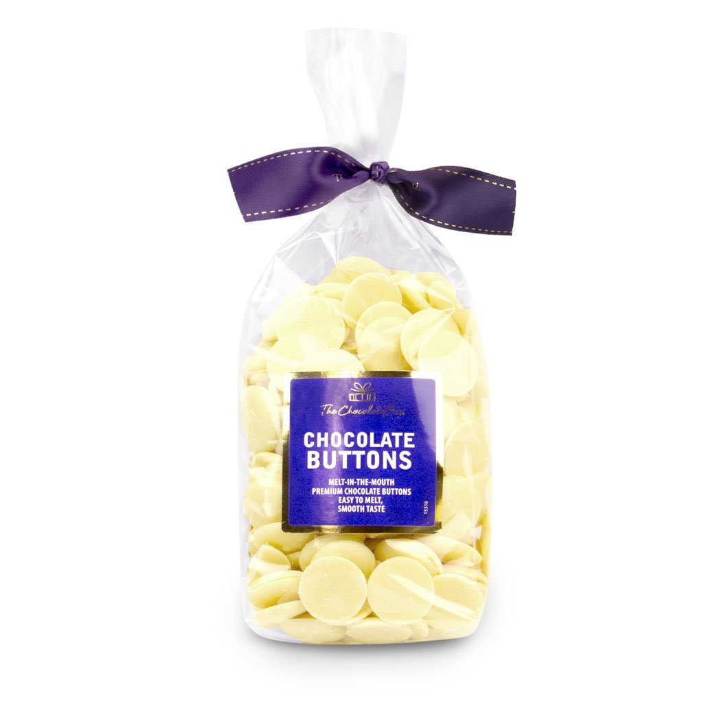 White Chocolate Pastilles (Buttons) 400g