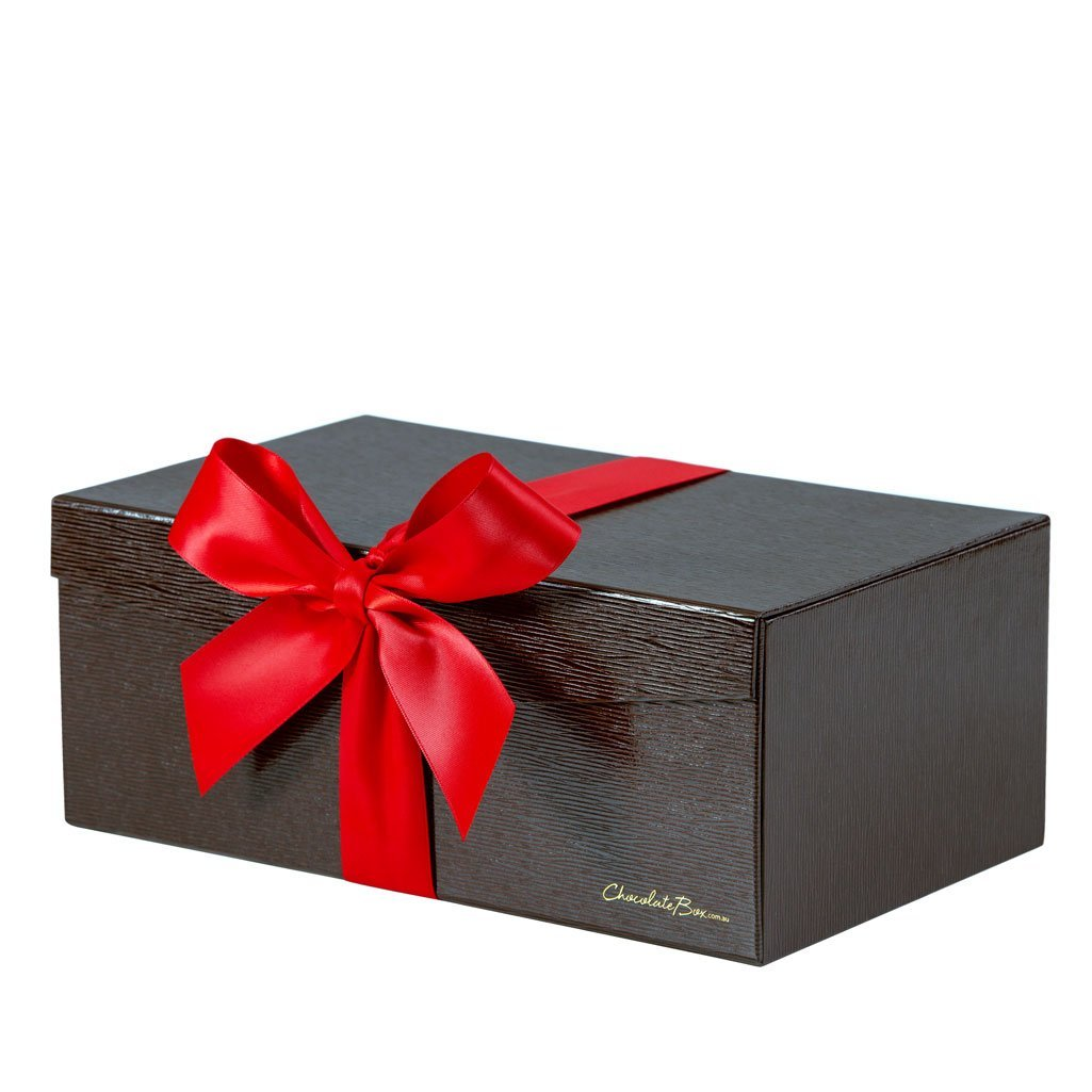 "Chocolate Sampler, Brown 3-Layer ""Jewellery Box"" Hamper"