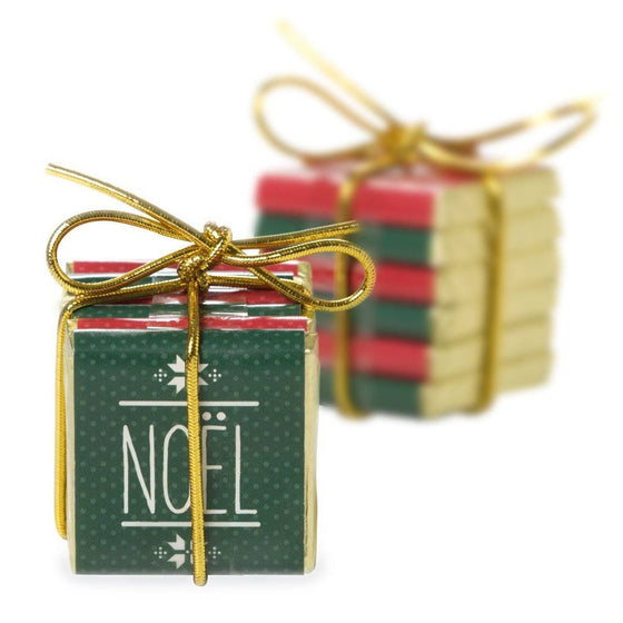 Milk Chocolate, 'Noel' Bundle, Red and Green, 40g