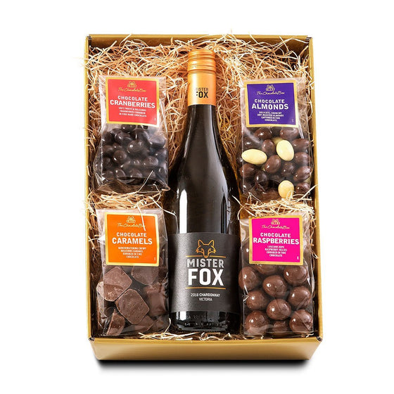 Celebration Hamper with Mister Fox Sparkling NV.