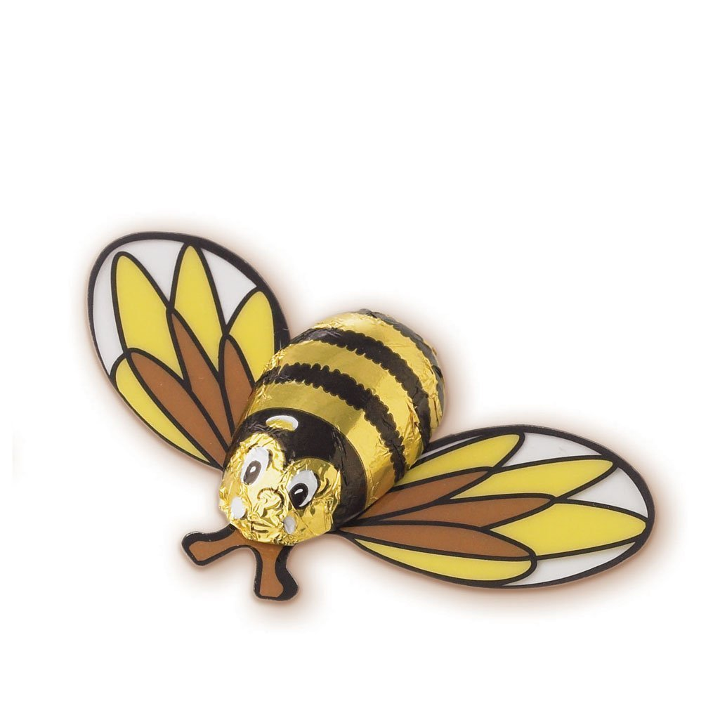 milk chocolate novelty bee