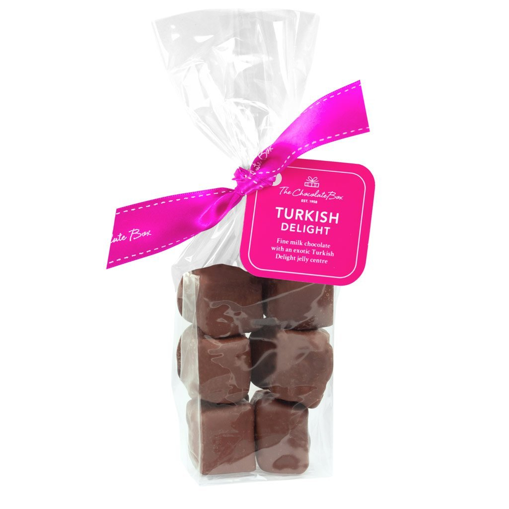 Turkish Delight Jelly in Chocolate