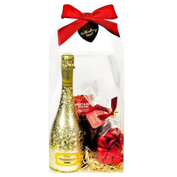 """Ti Amo"" Hamper with Prosecco"
