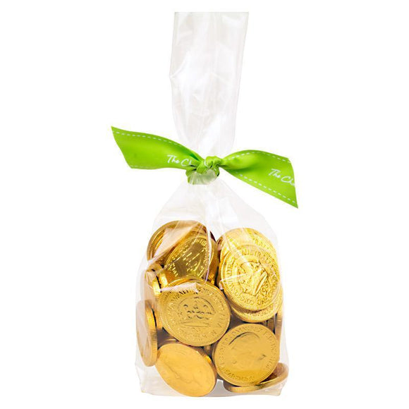 Nut Free Gold Coin Bag, Milk Chocolate 300g
