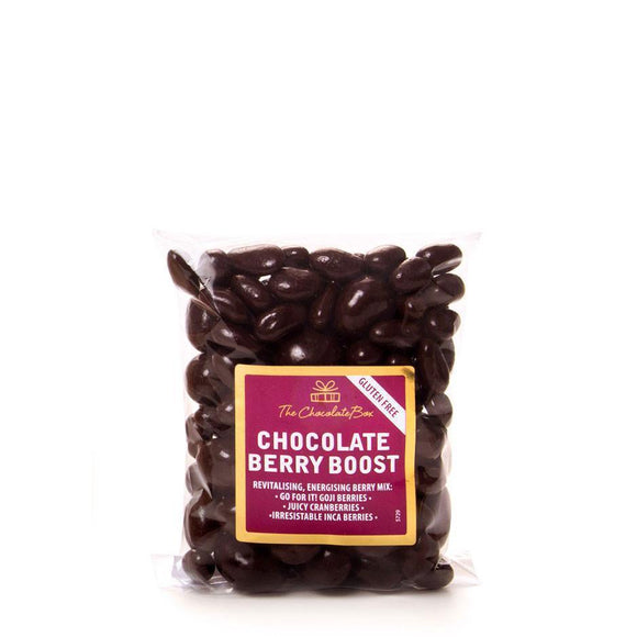 Berry Boost, Dark Chocolate 150g Bag