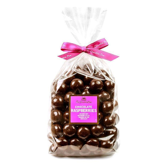 Raspberries, Dark Chocolate 1kg Bag