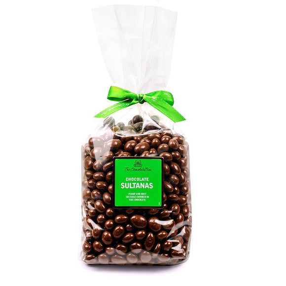 Sultanas, Milk Chocolate, 1kg Bag