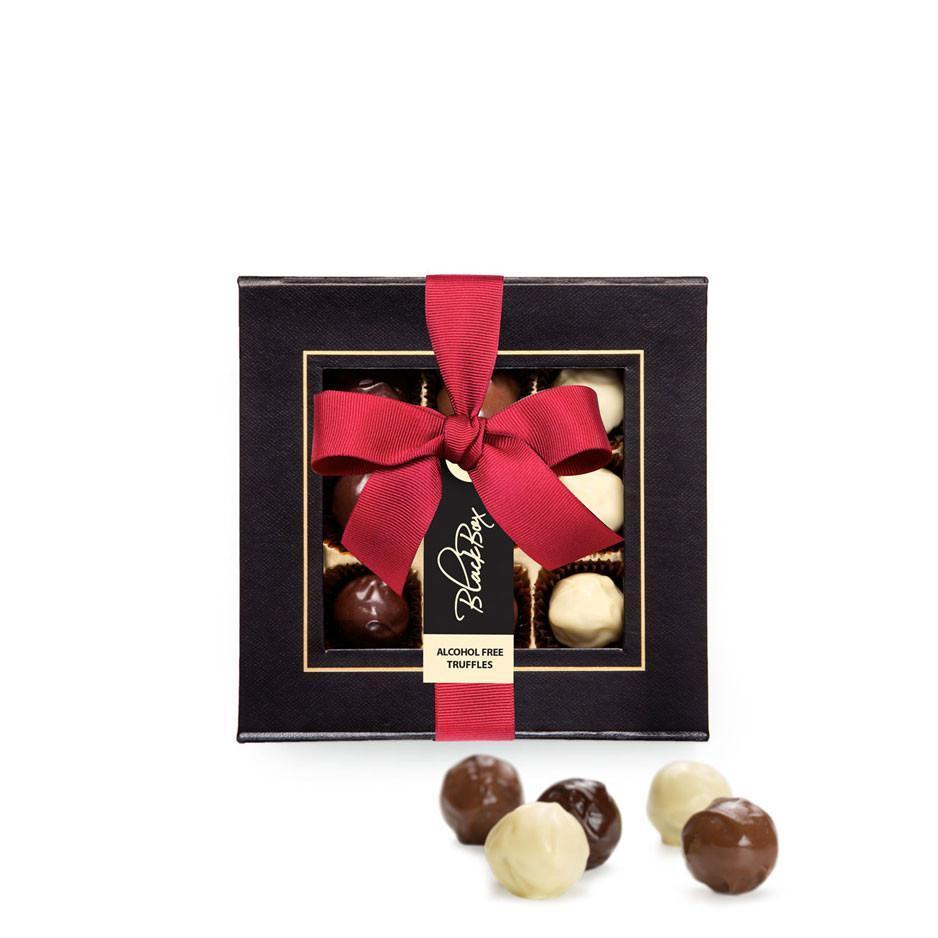 Black Box Chocolate Truffles, Alcohol Free, 115g