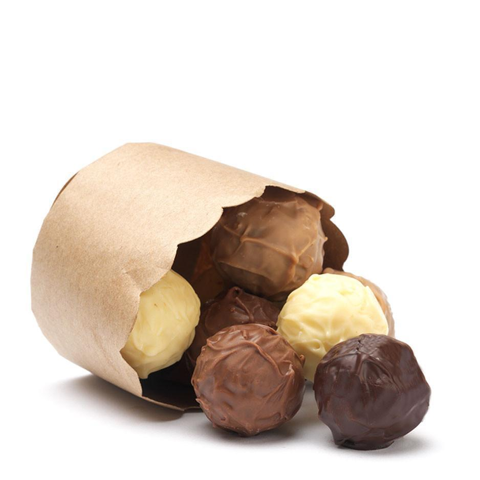 Black Box Chocolate Truffles (alcohol free), 36 pc Box