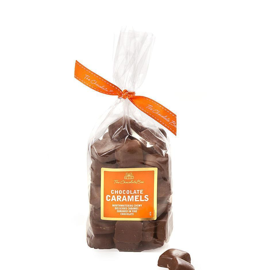 Caramel Chewy Bites, Milk Chocolate 400g Bag