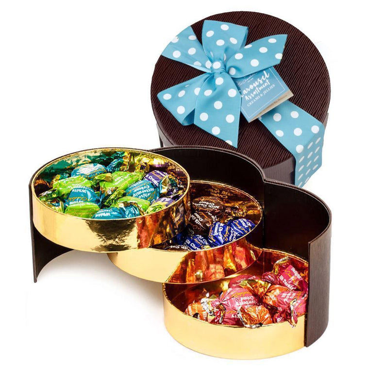 Carousel Collection, 3 Layer Gift Box, 375g - Carousel