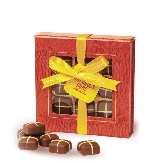 Hot Cross Buns, Milk Chocolate 16 piece box
