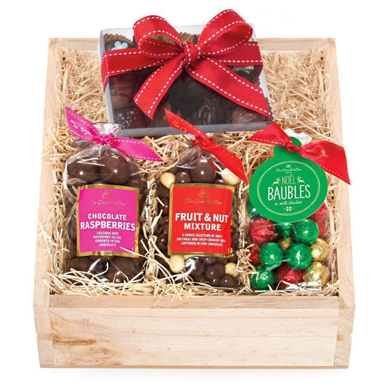 Christmas Crate Box.The Christmas Crate