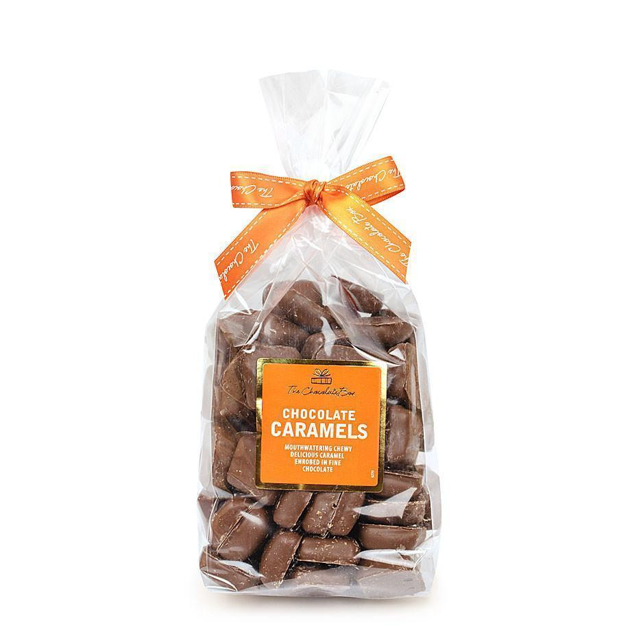 Caramel Chewy Bites, Milk Chocolate 600g Bag