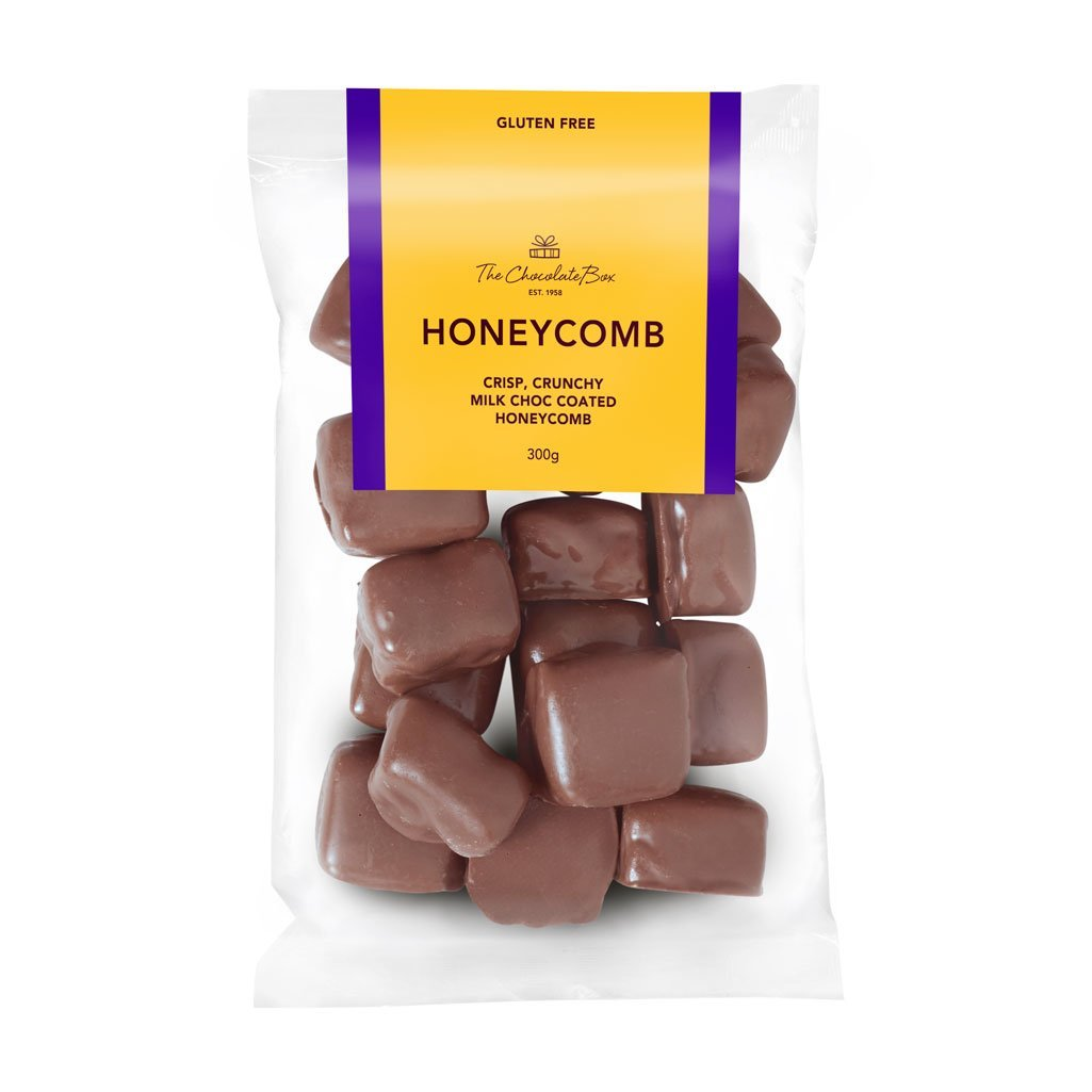 Honeycomb, Milk Chocolate 300g Bag