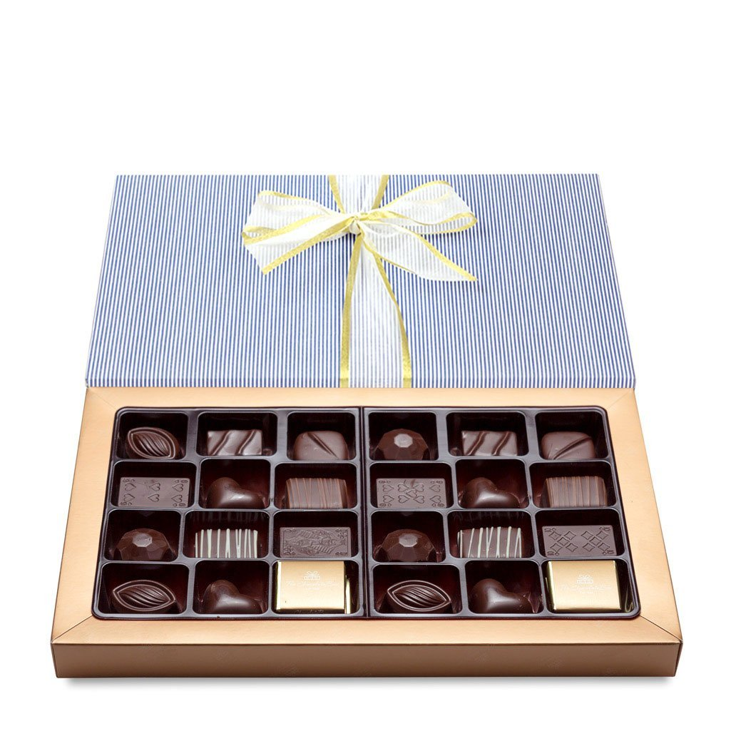 Classic Chocolate Box Collection, Dark Chocolate 355g - Classic Boxes